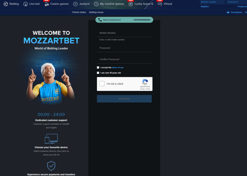 Mozzart bet Login, Mobile App and Registration