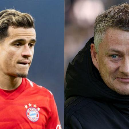 Ole Gunnar Solskjaer not interested in signing Coutinho from Barcelona