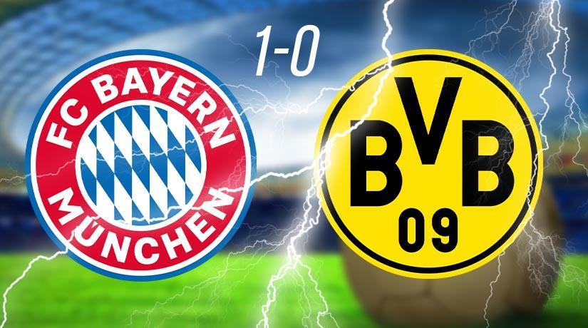 Bayern routs Dortmund 1-0: Joshua Kimmich outshines Lewandowski