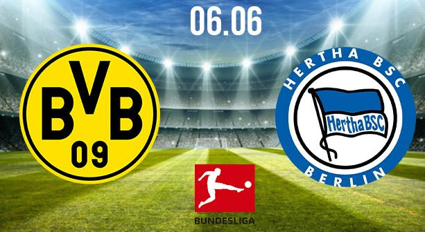 Borussia Dortmund vs Hertha Berlin Preview and Prediction: Bundesliga Match on 06.06.2020