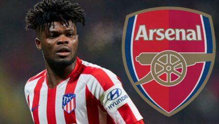 Arsenal eyes Thomas Partey as Atletico Madrid are ready to push him out of the door