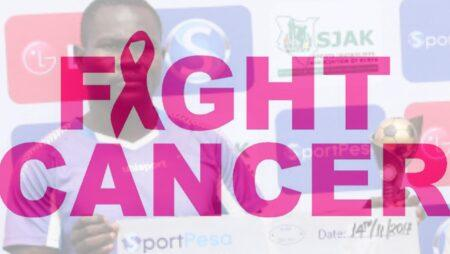 Nzoia Sugar striker determined in his fight against cancer