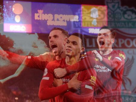 Liverpool makes history by winning English title for the first time in 30 years