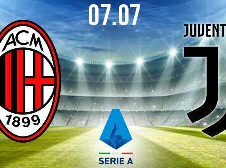 AC Milan vs Juventus Preview and Prediction: Serie A Match on 7.07.2020