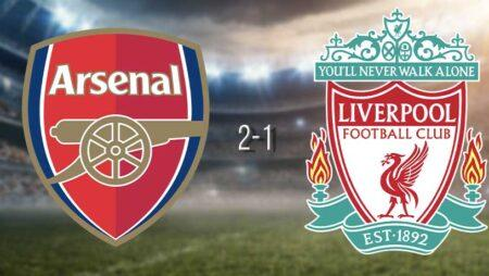 Arsenal killed Liverpool's hopes of record points haul attaining a 2-1 home victory