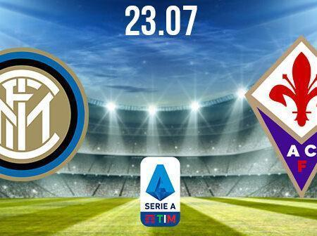 Inter Milan vs Fiorentina Preview and Prediction: Serie A Match on 23.07.2020