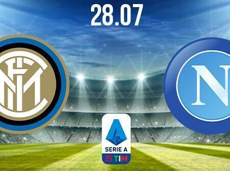 Inter Milan vs Napoli Preview and Prediction: Serie A Match on 28.07.2020