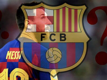 Lionel Messi uncertain about renewing the contract with Barcelona