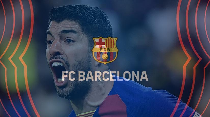 Barcelona keep the title race alive after Luis Suarez sends Espanyol down hitting a landmark