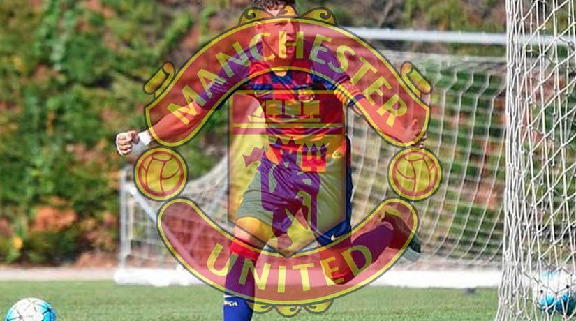 Barcelona ace Marc Jurado is set for a potential Manchester United move