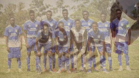 Migori Youth FC donate food to the vulnerable