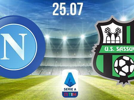 Napoli vs Sassuolo Preview and Prediction: Serie A Match on 25.07.2020