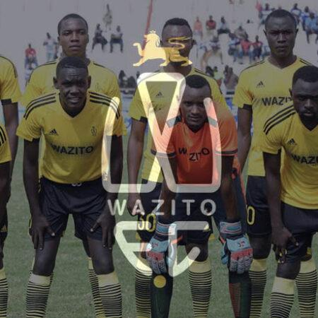Wazito FC announced the exit of their second top official in less than a week