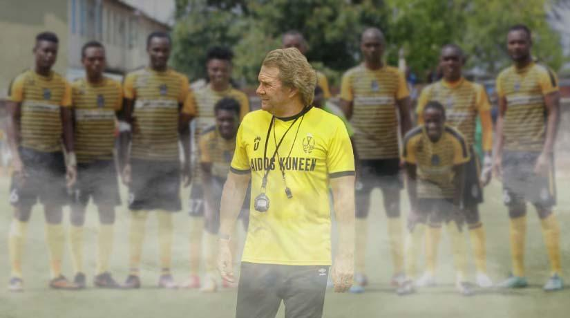 Wazito FC and coach Stewart Hall part ways by mutual consent