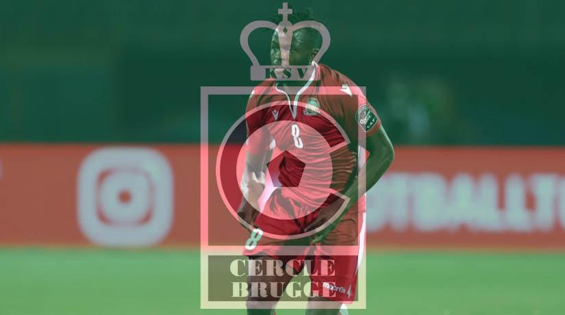 Stars Midfielder Omolo has extended a year stay at the Belgian top tier outfit Circle Brugge