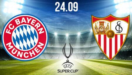 Bayern Munich vs Sevilla Prediction: UEFA Match on 24.09.2020