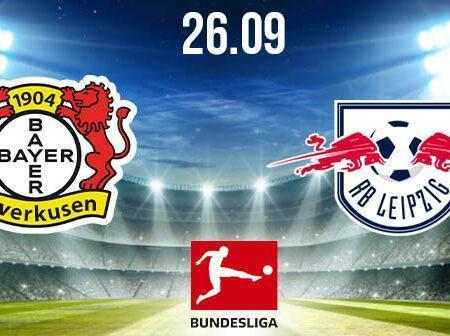 Bayer Leverkusen vs RB Leipzig Prediction: Bundesliga Match on 26.09.2020