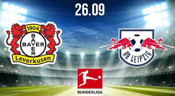 Bayer Leverkusen vs RB Leipzig Prediction: Bundesliga Match on 26.09.2020