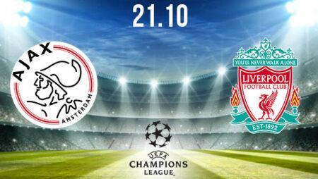 Ajax vs Liverpool Prediction: Champions League on 21.10.2020