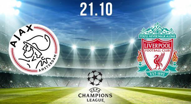 Ajax vs Liverpool Prediction: Champions League | 21.10 ...