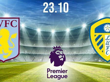 Aston Villa vs Leeds United Prediction: Premier League Match on 23.10.2020