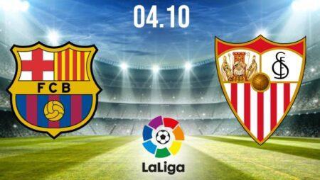 Barcelona vs Sevilla Preview and Prediction: La Liga Match on 04.10.2020
