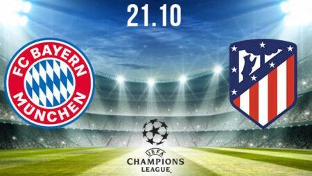 Bayern Munich vs Atletico Madrid Prediction: Champions League on 21.10.2020