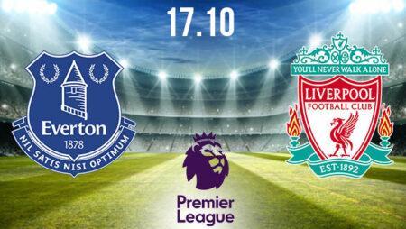 Everton vs Liverpool Prediction: Premier League Match on 17.10.2020