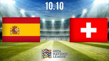 Spain vs Switzerland Prediction: Nations League Match on 10.10.2020