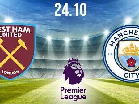 West Ham vs Manchester City Prediction: Premier League Match on 24.10.2020