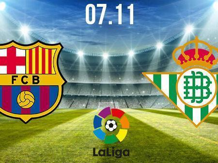 Barcelona vs Real Betis Preview and Prediction: La Liga Match on 07.11.2020
