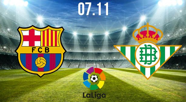 Barcelona vs Real Betis Preview and Prediction: La Liga Match on 07.11.2020
