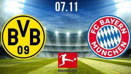 Borussia Dortmund vs Bayern Munich Prediction: Bundesliga Match on 07.11.2020