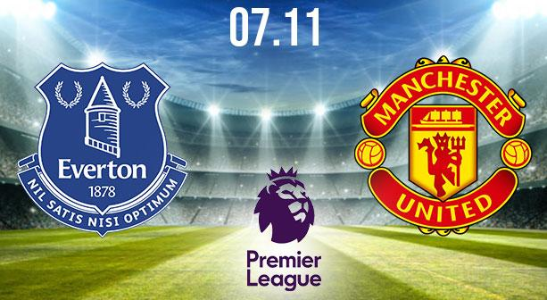 Everton vs Manchester United Prediction: Premier League Match on 07.11.2020
