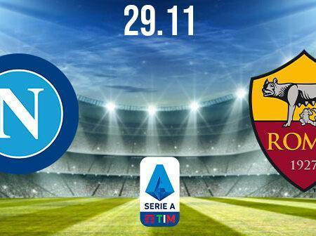 Napoli vs AS Roma Prediction: Serie A Match on 29.11.2020