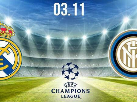 Real Madrid vs Inter Milan Prediction: UEFA Champions League Match on 03.11.2020