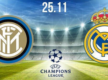 Inter Milan vs Real Madrid Prediction: UEFA Champions League Match on 25.11.2020
