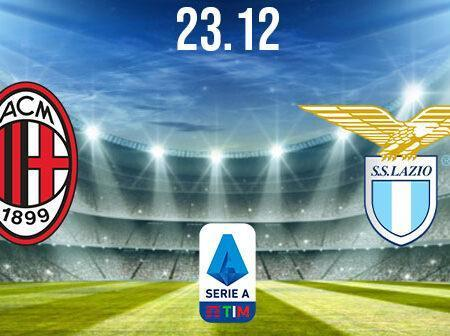 AC Milan vs Lazio Prediction: Serie A Match on 23.12.2020