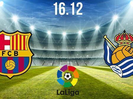 Barcelona vs Real Sociedad Preview and Prediction: La Liga Match on 16.12.2020
