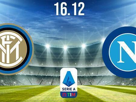 Inter Milan vs Napoli Prediction: Serie A Match on 16.12.2020