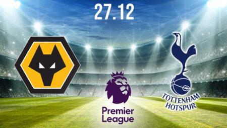 Wolverhampton vs Tottenham Preview and Prediction: Premier League Match on 27.12.2020
