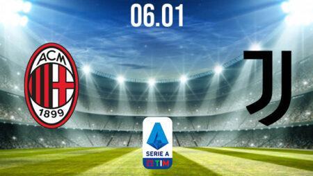 AC Milan vs Juventus Prediction: Serie A Match on 06.01.2021