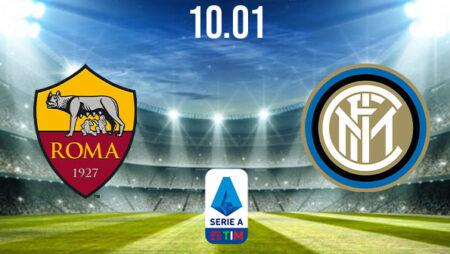 AS Roma vs Inter Milan Preview and Prediction: Serie A Match on 10.01.2021