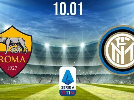AS Roma vs Inter Milan Prediction: Serie A Match on 10.01.2021