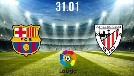 Barcelona vs Athletic Bilbao Preview and Prediction: La Liga Match on 31.01.2021