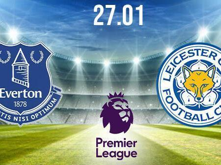 Everton vs Leicester Preview and Prediction: Premier League Match on 27.01.2021