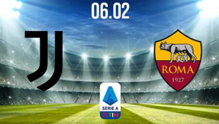 Juventus vs AS Roma Preview and Prediction: Serie A Match on 06.02.2021