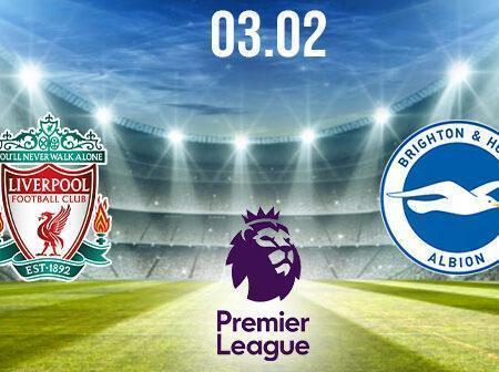 Liverpool vs Brighton Preview and Prediction: Premier League Match on 03.02.2021