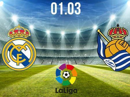 Real Madrid vs Real Sociedad Preview and Prediction: La Liga Match on 01.03.2021
