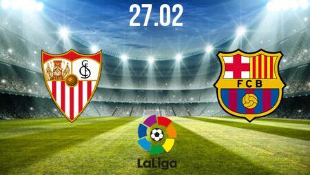 Sevilla vs Barcelona Preview and Prediction: La Liga Match on 27.02.2021